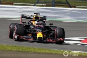 F1イギリスFP1:レッドブル・ホンダのフェルスタッペン首位発進。ペレス代役にヒュルケンベルグが駆けつけ9番手