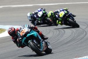 MotoGP アンダルシアGPで表彰台を独占するもヤマハ陣営に浮かび上がる不安