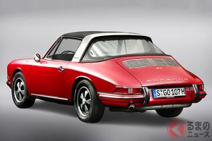 クーペでもカブリオレでもない、ポルシェ「911タルガ」歴代モデル7選