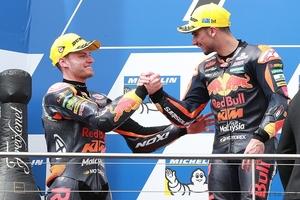 MotoGPルーキー、KTMのブラッド・ビンダーが明かすミサノテストの感触