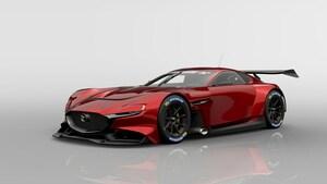 マツダ、グランツーリスモSPORT向け「RX-ビジョン GT3コンセプト」を披露